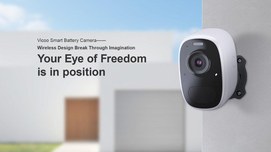 Smart Battery Camera IP 1080P WiFi
