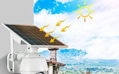 Telecamera Stand Alone SIM 4G 360° HD pannello solare