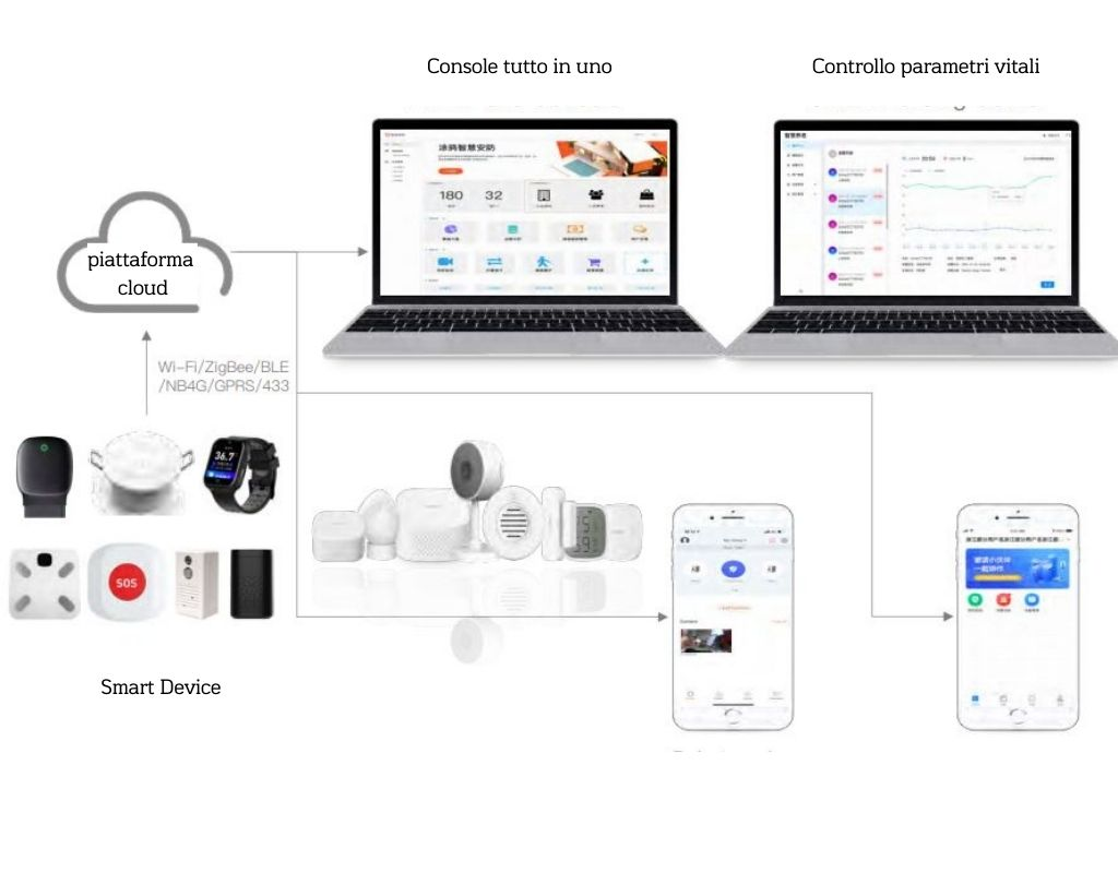 Piattaforma Smart Domotica assistenziale