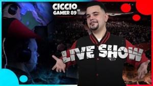 CiccioGamer89 Live Show: tutte le informazioni per partecipare al nuovo evento
