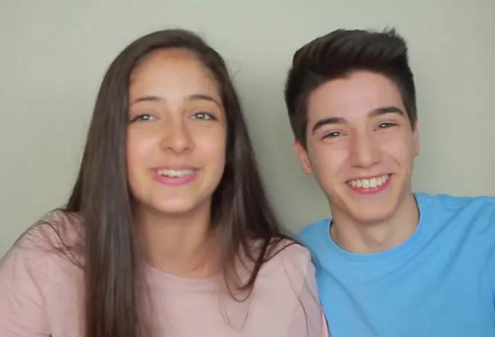 Marco Cellucci e la fidanzata Giulia