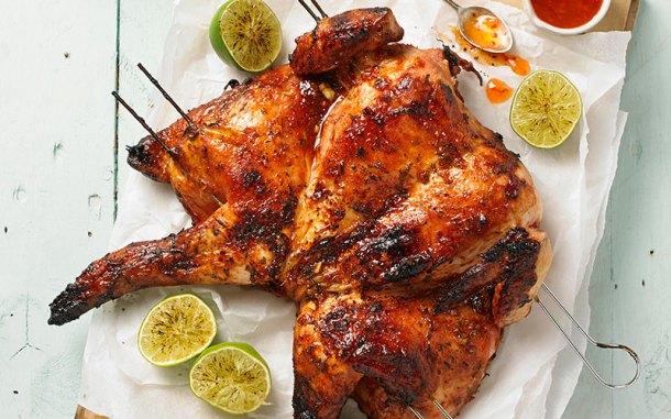 Smokey Lime and Chilli Spatchcock Chicken | Webbs Garden Centre