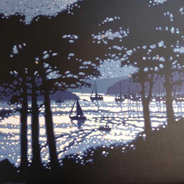 Gordon Hunt artist:  Cornwall  Autumn Lights exhibition