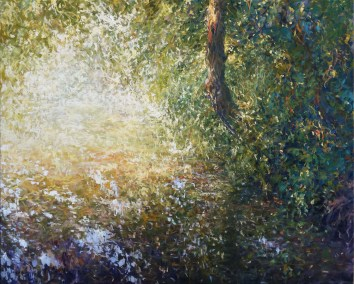 Pond Reflections, 100x120cm