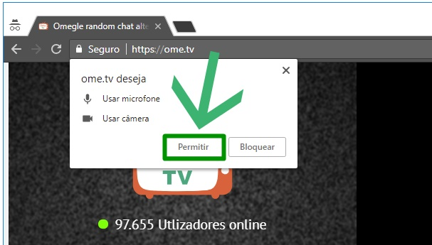 Ome.TV no PC - Chat Alternative Online