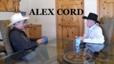 ALEX CORD WESTERN TRAILS TV Talk SHOW Bob Terry