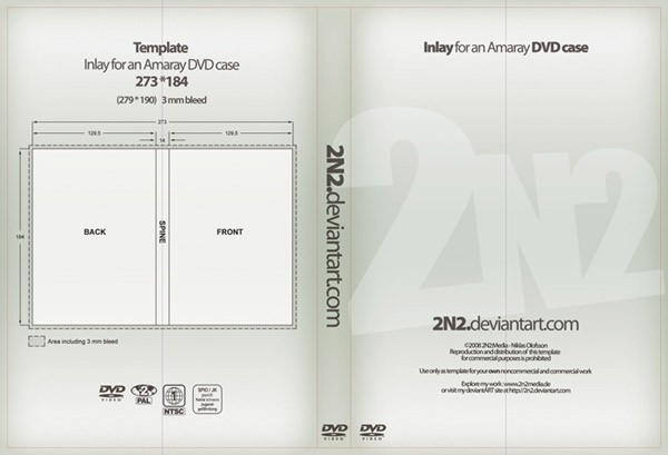 12 Sets Free CD DVD Cover Templates Web Cool Tips
