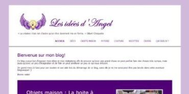 [blog] Installation d'un blog WordPress pour Les idées d'Angel
