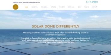 [site] Développement d'une nouvelle version du site pour une entreprise spécialisée dans les panneaux solaires