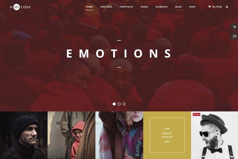 hcode - WP creative theme