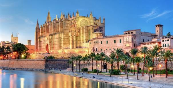 Palma de Majorque pendant une mini croisière