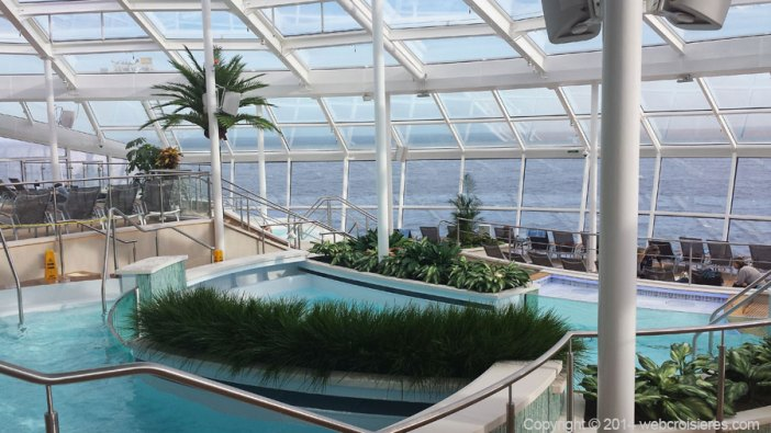 Piscine vue mer du Quantum of the Seas