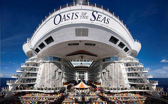 Oasis of the Seas : un navire moderne riche en animations