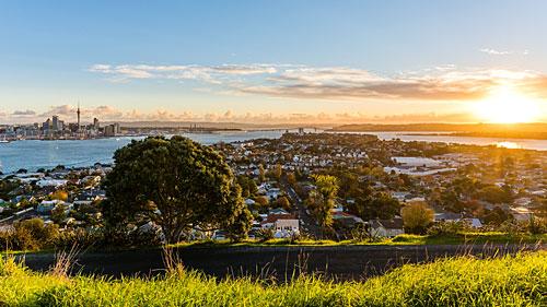 Baie d'Auckland (Nouvelle Zélande)