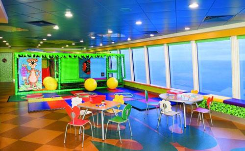 Aire de jeux sur un navire NCL