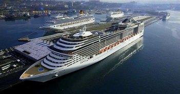 Point de vue sur le port de Marseille