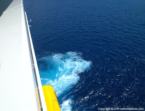 Vue cabine avec balcon Harmony of the Seas