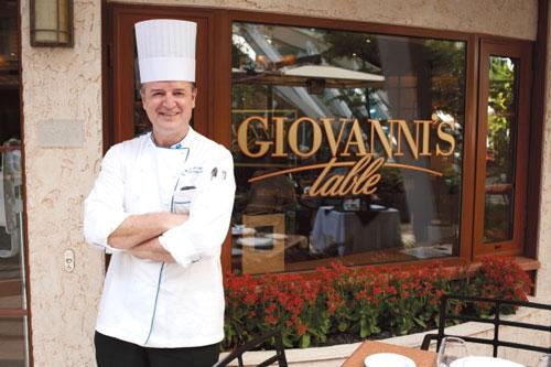 Le restaurant Giovanni's Table