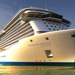 Le nouveau navire Majestic Princess de la compagnie Princess Cruises