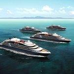Illustration des 4 futurs navires de la compagnie Ponant