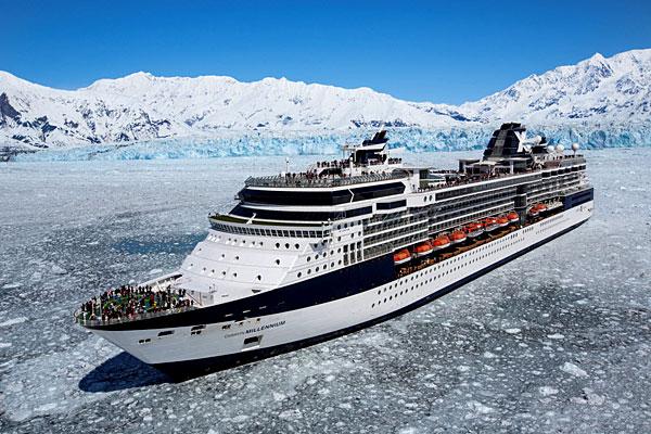 Celebrity Milenium croisant en Alaska