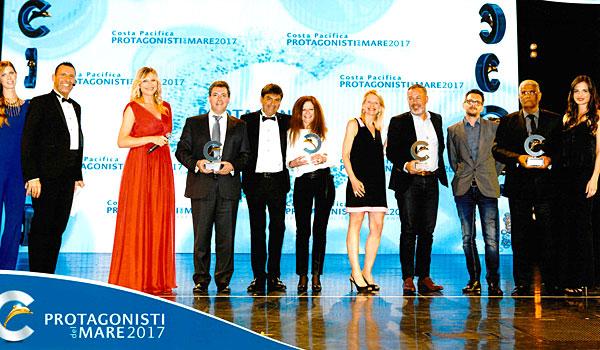 Remise des trophées Costa Lauréats de la mer 2017