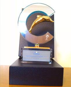 Trophée de la Meilleure Agence Vente Tour Du Monde pour le marché français décerné au groupe JET-TRAVEL / WEBCROISIERES