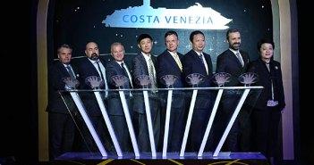 Cérémonie de la pièce Costa Venezia