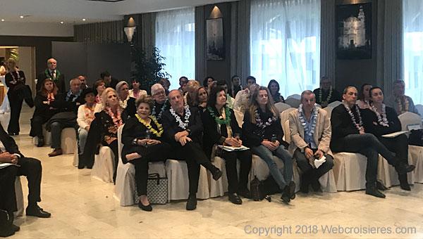 Invités présents durant la soirée Polynésie française