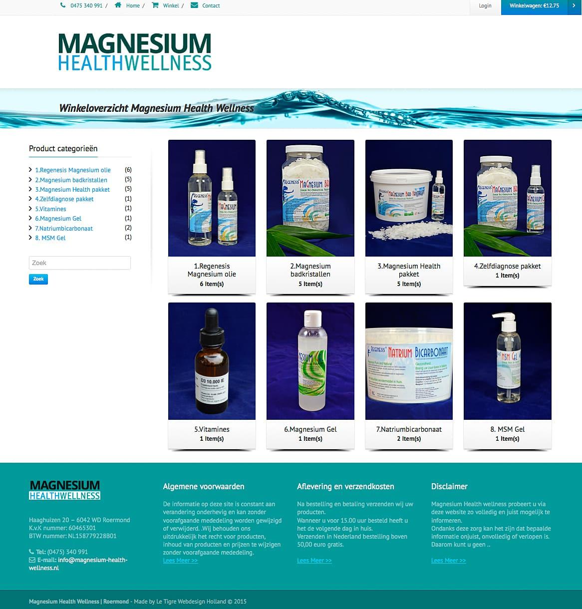 Magnesium-Winkeloverzicht