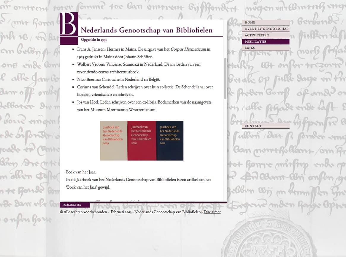 publicaties-bibliofielen