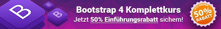 Bootstrap 4 Kurs