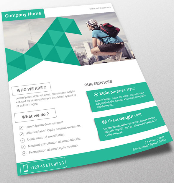 Free Psd Flyer Templates To Download For Photoshop 2016