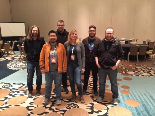 Photo of Mozilla Y'All-Hands CTF participants