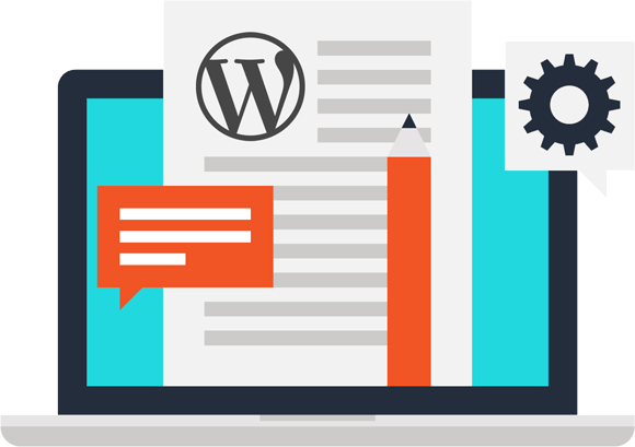 WordPress Maintenance Plan Flat Icon