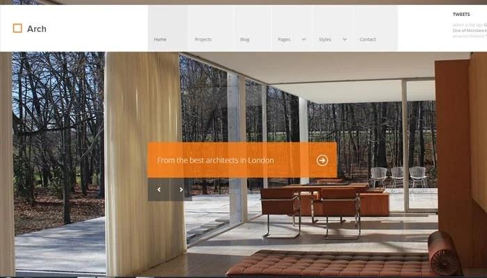 20 clean portfolio website templates for architects