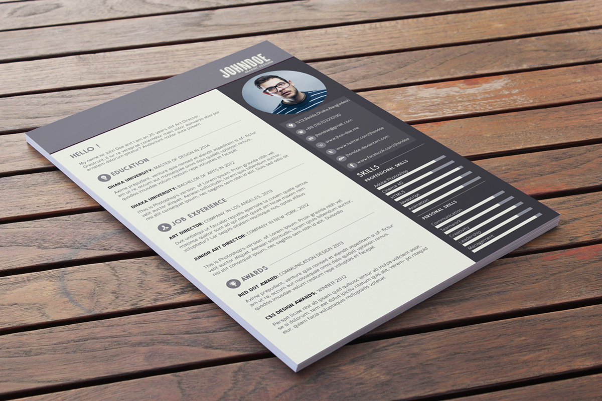Free Download  Free Resume Template   Webdesigner Depot Download this r    sum     template for free  r4 r3 r2 r1