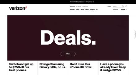 Verizon Wireless 2019