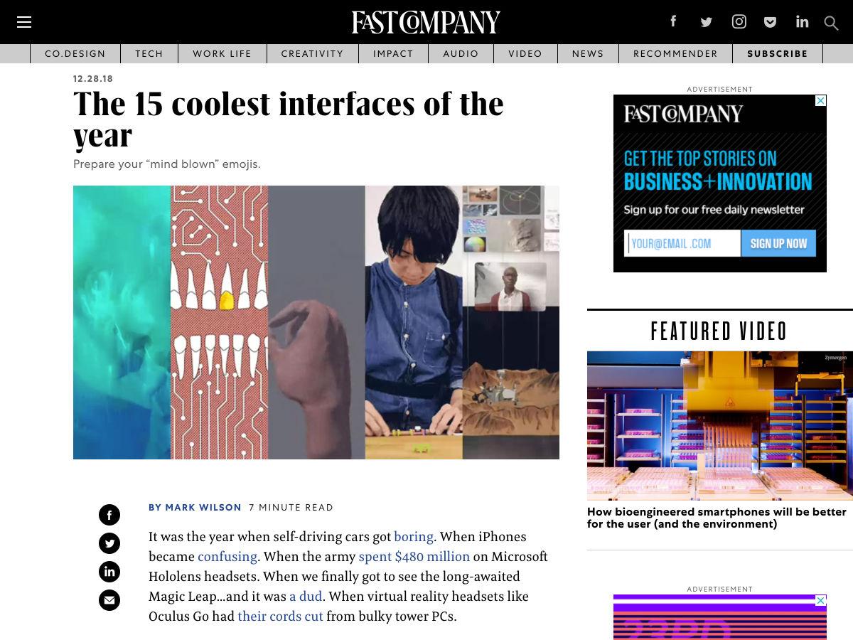 Popular design news of the week: December 31, 2018 – January 6, 2019