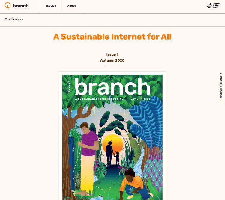 Branch website