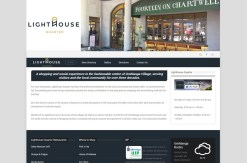 shopping centre website design