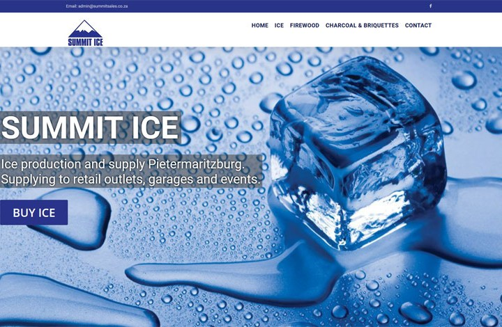 ice making business website