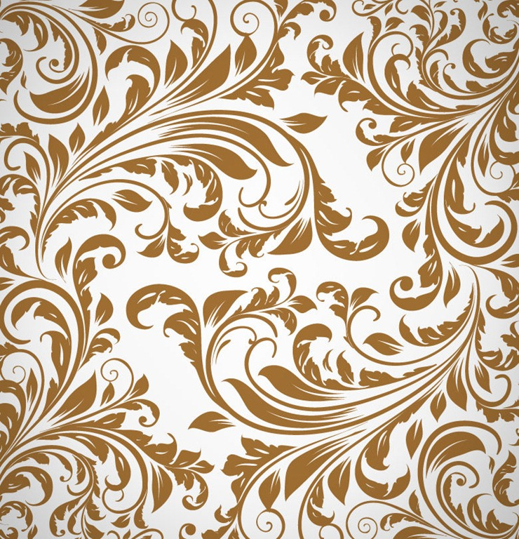 Abstract Floral Pattern Background Vector Free Vector Graphics All Free Web Resources For