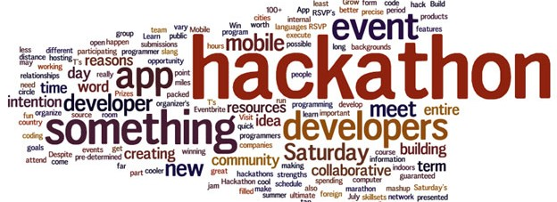 Hackathons (or really focused creative sessions)
