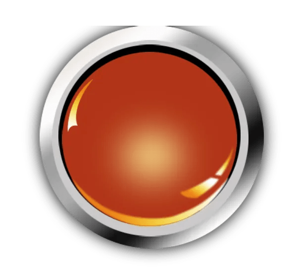 Round Red Orange Widget