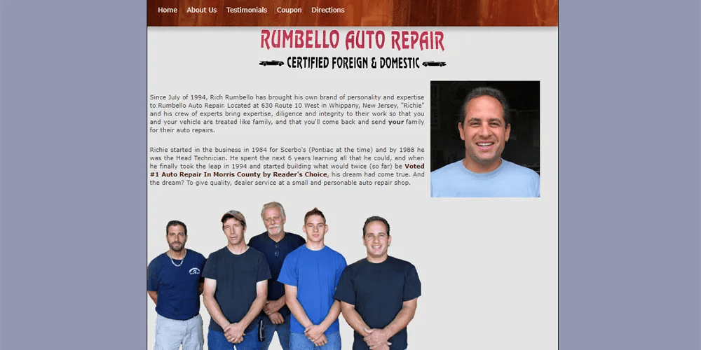 Rumbello Auto Repair
