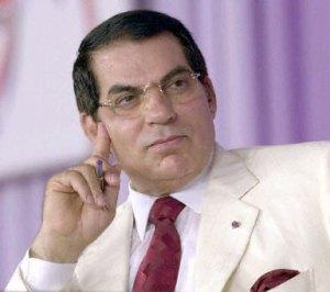 Zine El Abidine Ben Ali Président de la république tunisienne