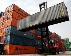 Containers dans le port de Rades - photo (ameninvest.com)