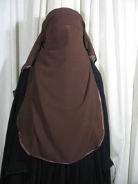 Niqab - photo (islamicboutique.com)