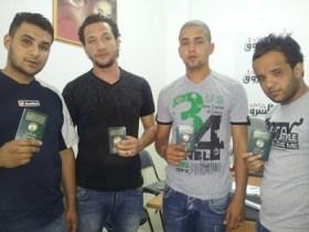 4 Algériens torturés (photo - Echouroukonline)